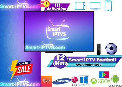 Abonnement Smart iPTV Football / duplex iptv football
